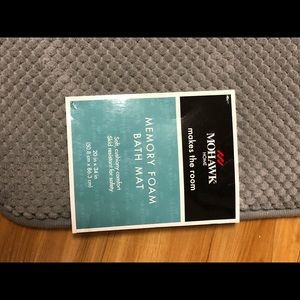 Other - Mohawk Gray Bath Mat